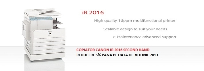 COPIATOR CANON IR 2016 SECOND HAND PROMO
